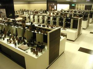 sale spot of Bizen ware